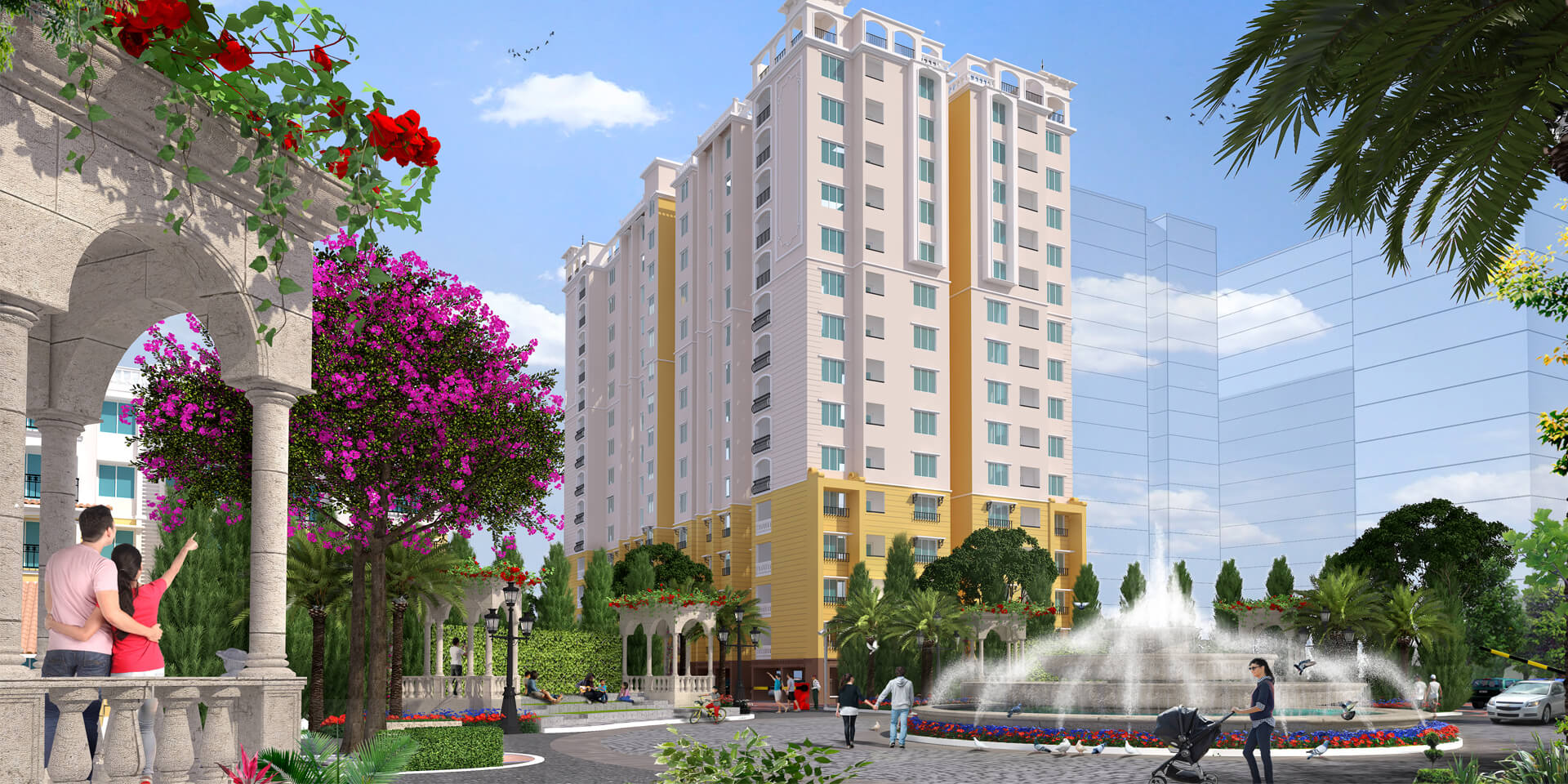 Flats for sale in XS Real Catalunya City Phase 2 Flamenco Siruseri