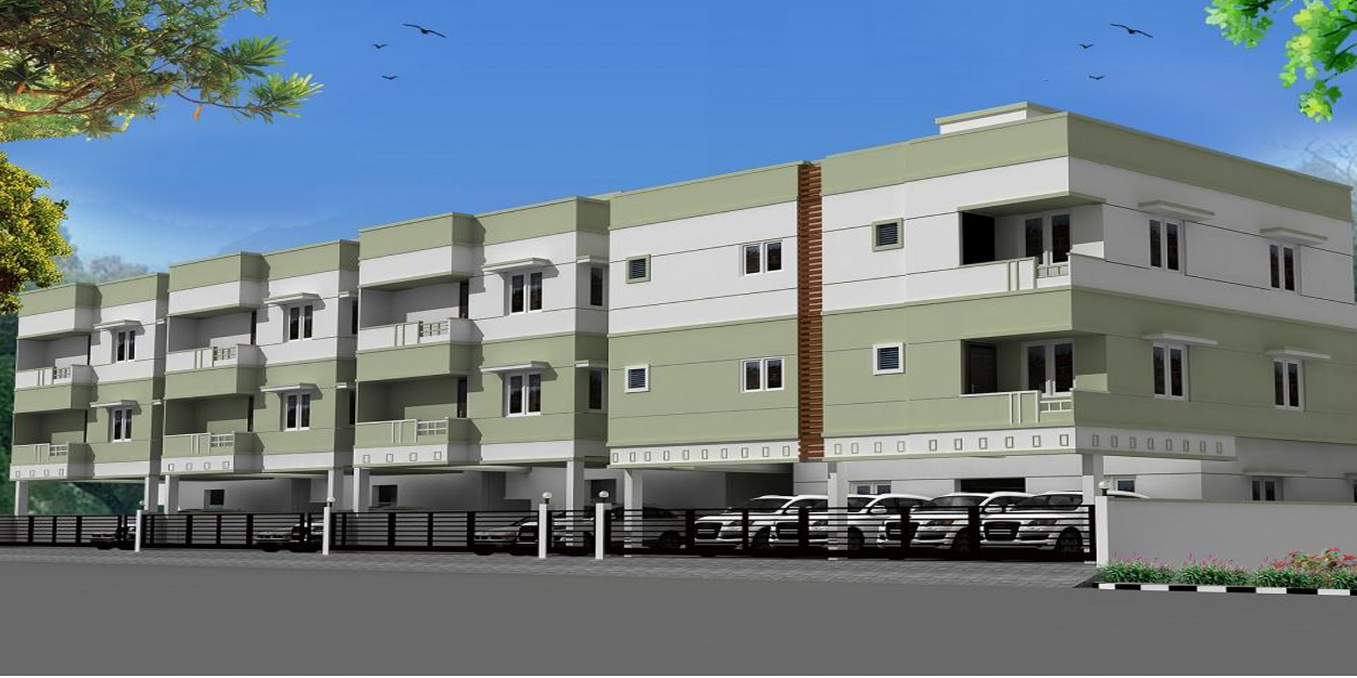 Flats for sale in CMR Sevarkodi Phase 2 Kelambakkam