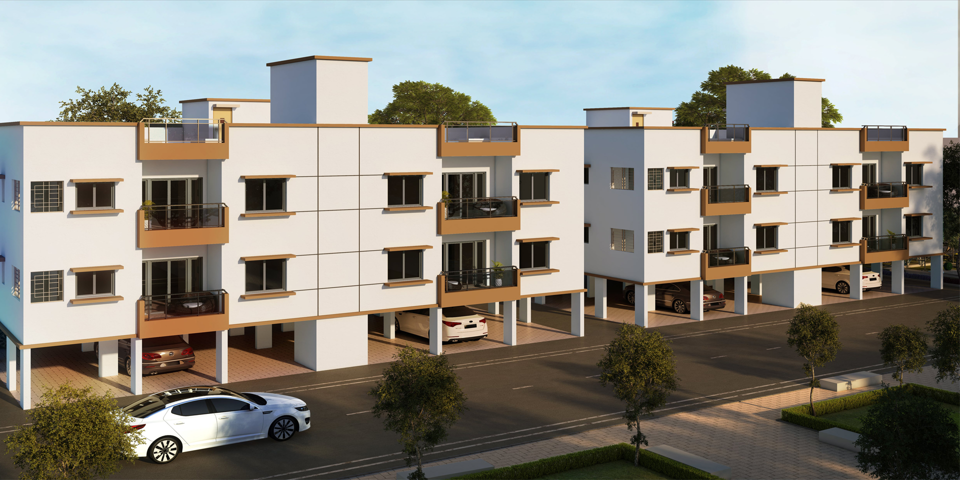 3 BHK Flats for sale in Sholinganallur